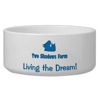 Dog bowl from Two Shadows Farm