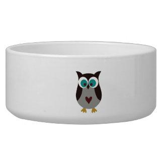 Dog Bowl - Owl