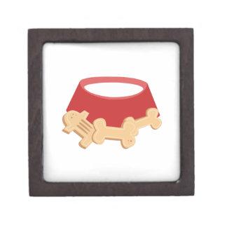 Dog Bowl Premium Jewelry Boxes