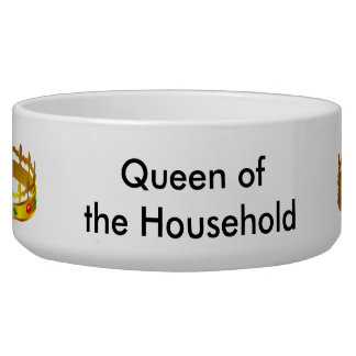 Dog Bowl - Queen of the Household
