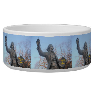 Dog Bowl Thomas Paine Statue Rights Of Dogs
