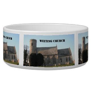 Dog Bowl Weeting Church Weeting Norfolk England