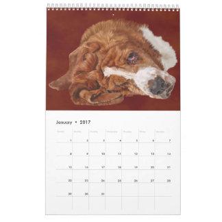 Dog Breed Art Calendar