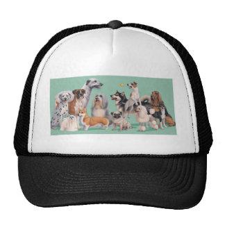Dog Breed Diversity Trucker Hat