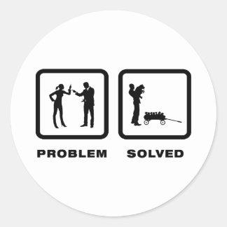 Dog Breeder Classic Round Sticker