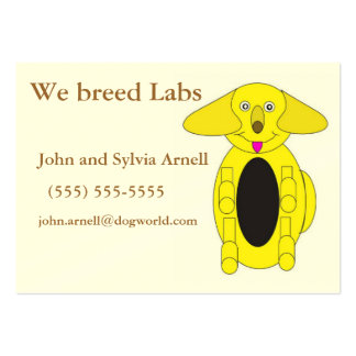 Dog Breeders Business Card
