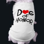 """Dog Bridal T-Shirt<br><div class=""""desc"""">Include your best friend in your wedding ceremony with a bridal dog t-shirt.</div>"""