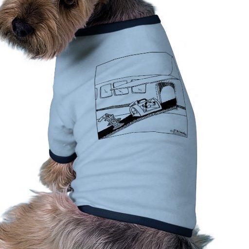 Dog Brings Hydrant on a Plane Doggie Shirt