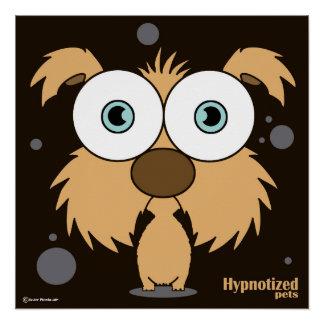 "Dog Brown 20"" x 20"", Poster Paper (Semi-Gloss)"