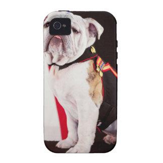 dog bulldog Navy official mascot iPhone 4/4S Case