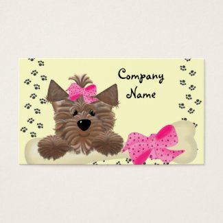 Dog Business Card