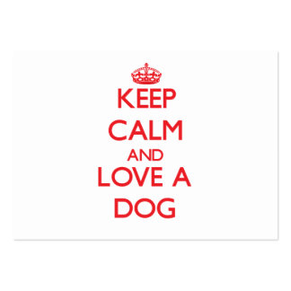 Dog Business Card Templates