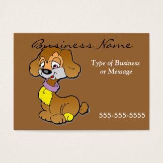 Dog Business Card Template - Cartoon