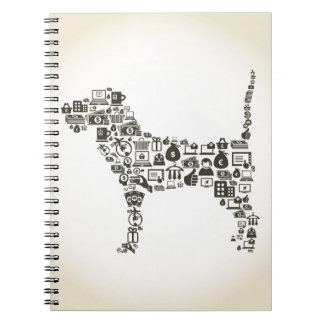 Dog business notebook