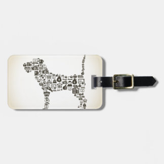 Dog business tag for luggage
