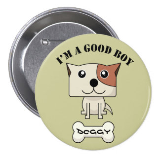Dog Button12 Pinback Button