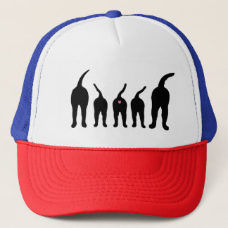 Dog Butts Silhouette Trucker Hat