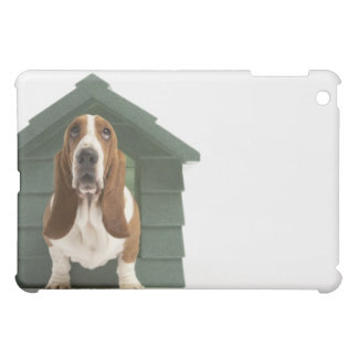 Dog by doghouse case for the iPad mini