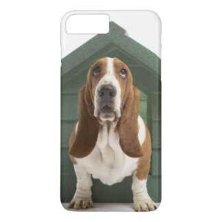 Dog by doghouse iPhone 7 plus case