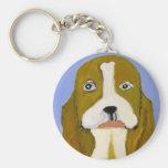 dog by eric ginsburg key chain