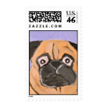 dog by eric ginsburg postage stamp