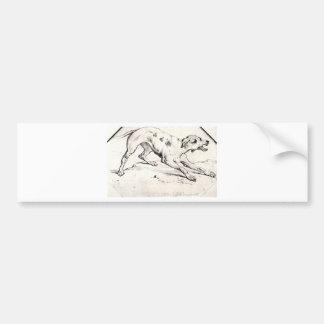 Dog by Vincent van Gogh Bumper Sticker