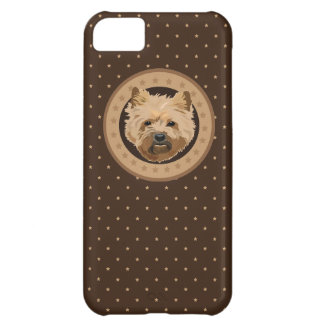 Dog cairn terrier cover for iPhone 5C