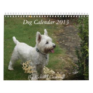 Dog Calendar 2013