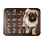 Dog calendar 2016 Photo Small Magnet 3x4