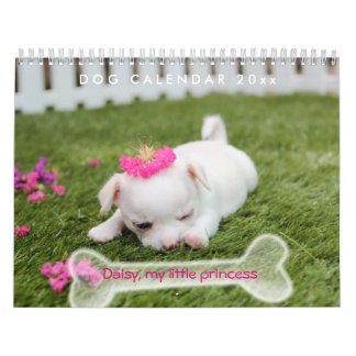 Dog Calendar 2019 Cute Puppy Add Photo