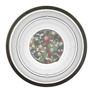 Dog Camouflage Pattern Pet Bowl