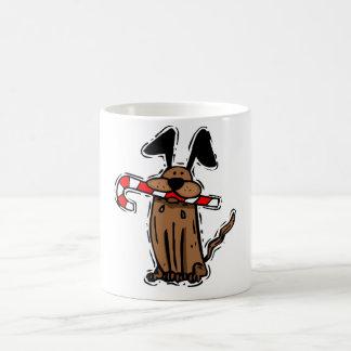 Dog Candy Cane Mug