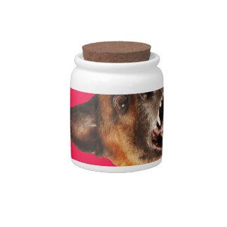 Dog Candy Jars