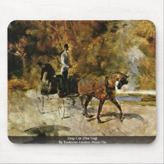 Dog-Car (The Gig) By Toulouse-Lautrec Henri De Mouse Pad