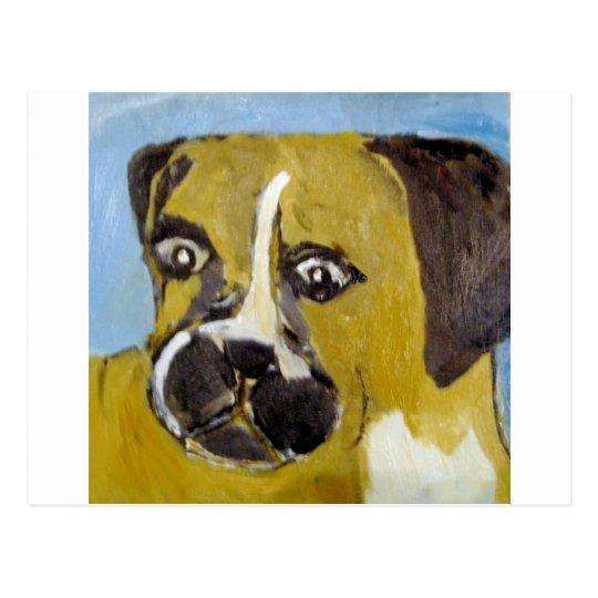 dog, card, happy, eric ginsburg, worldoferic.com, postcard