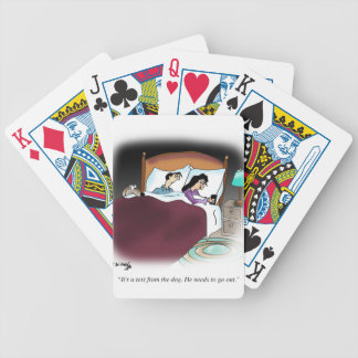 Dog Cartoon 9390 Bicycle Playing Cards
