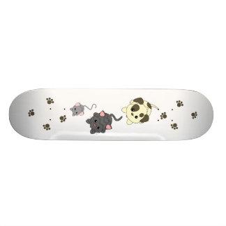 Dog Cat, Mouse Skateboard Deck