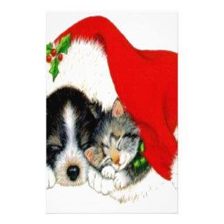 Dog & Cat Personalized Stationery