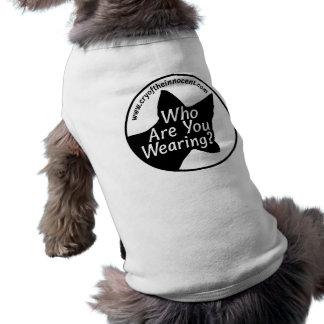 Dog/Cat Sweatshirt (Who Are You Wearing?) T-Shirt