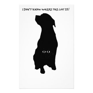 Dog cat thing personalized stationery