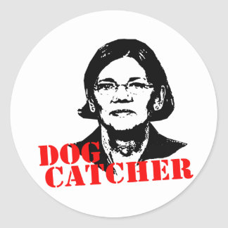 Dog Catcher Classic Round Sticker
