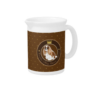 Dog  Cavalier King Charles Spaniel Drink Pitchers
