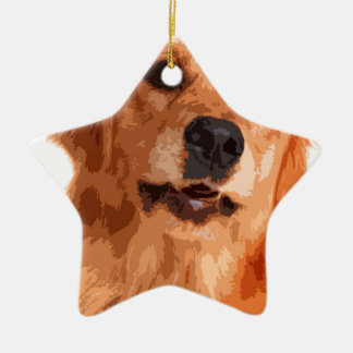 Dog Ceramic Ornament