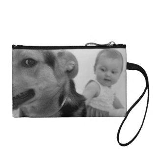 dog change purse