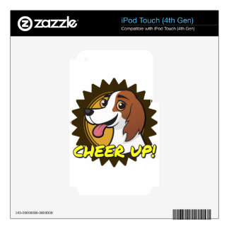 Dog - Cheer Up! Skin For iPod Touch 4G