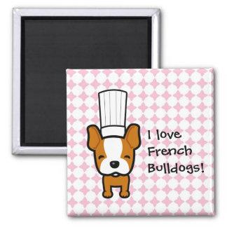 Dog Chef Art Personalized Fridge Magnet