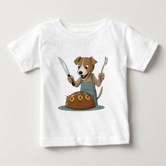 Dog Chef Baby T-Shirt