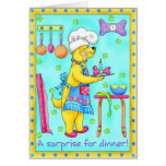 Dog Chef Greeting & Note card