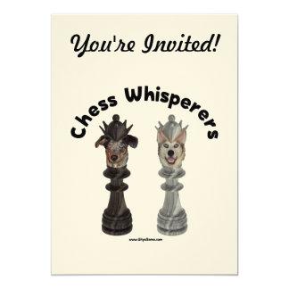 Dog Chess Whisperer Card