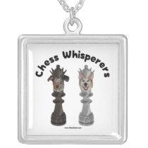 Dog Chess Whisperer Necklaces